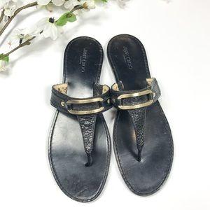•Jimmy Choo• Thong Sandals
